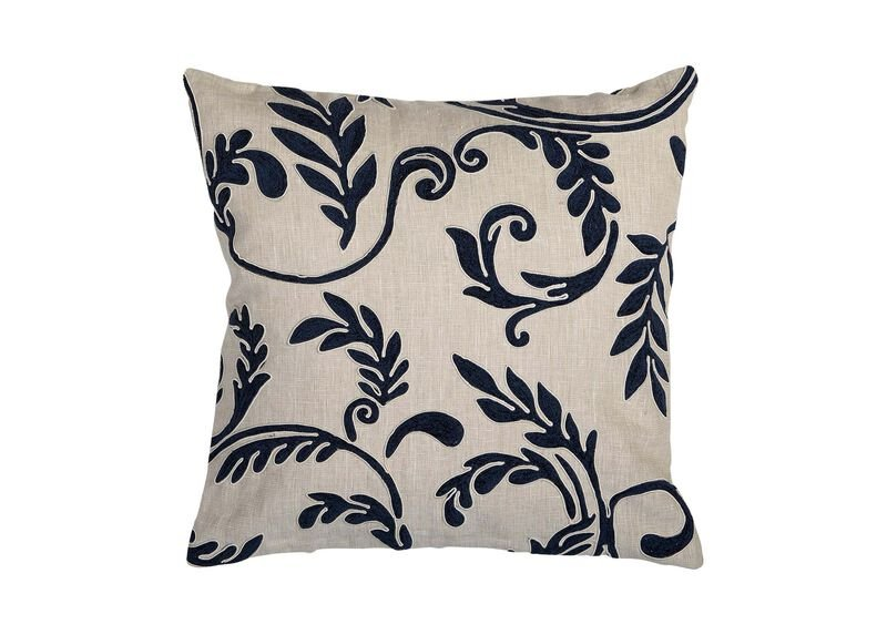 Embroidered Floral Motif Throw Pillow Ethan Allen Throw Pillows Awesome Ethan Allen Decorative Pillows