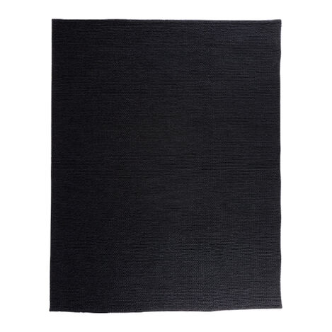 Braided Choti Rug, Black ,  , large
