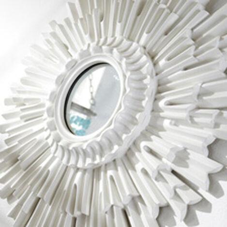 "20"" White Sunburst Mirror ,  , hover_image"