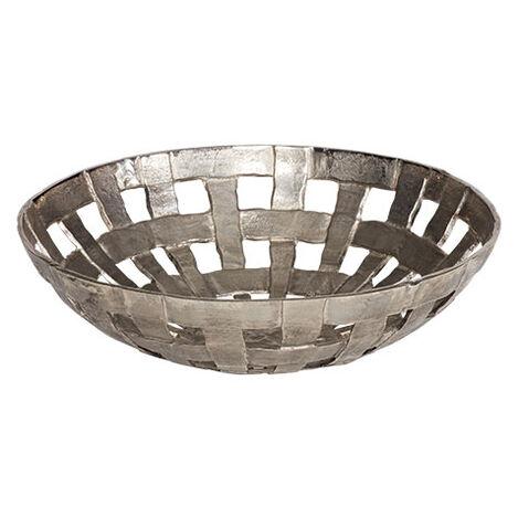 Scarlet Metal Basketweave Bowl Product Tile Image 432411