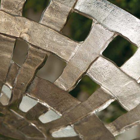 Scarlet Metal Basketweave Bowl Product Tile Hover Image 432411