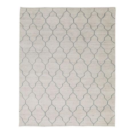 Tulu Lattice Rug, Natural/Seafoam Product Tile Image 041553