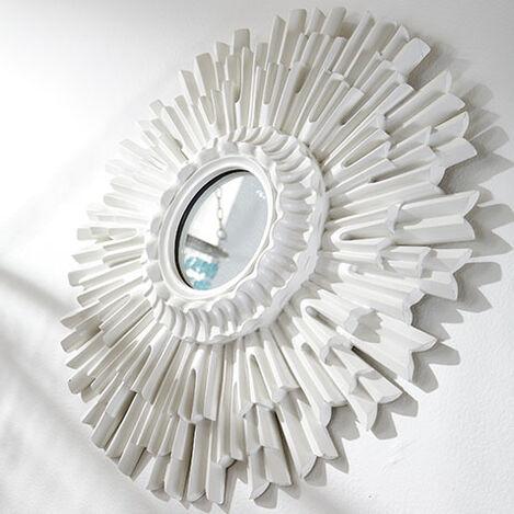 "20"" White Sunburst Mirror Product Tile Hover Image 074062"