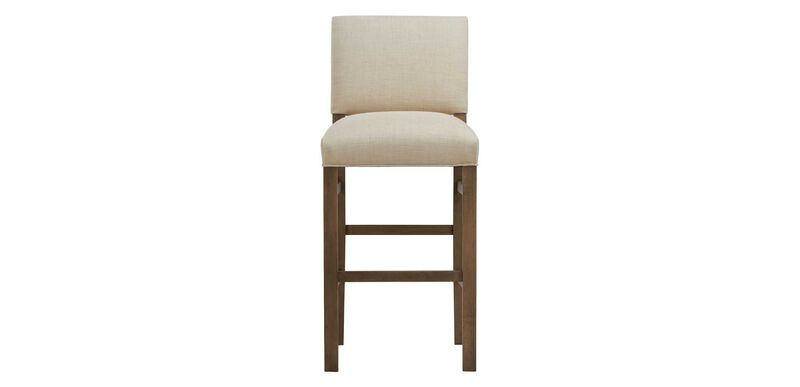 Hadley Barstool, Straight Top and Square Leg
