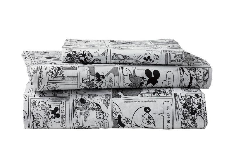 Mickey Mouse Comic Strip Sheet Set, Mickey's Ears
