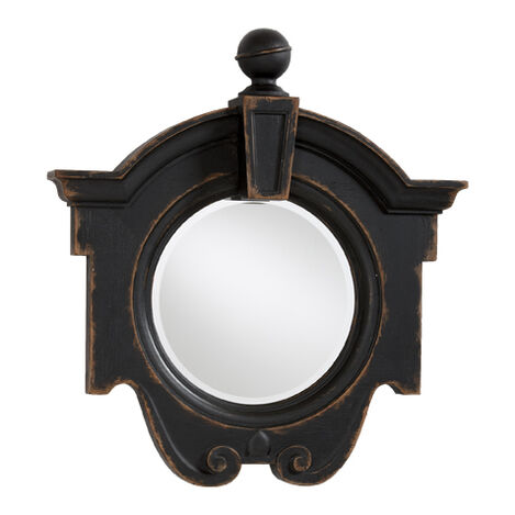 Antique Black Gisele Mirror Product Tile Image 074430B