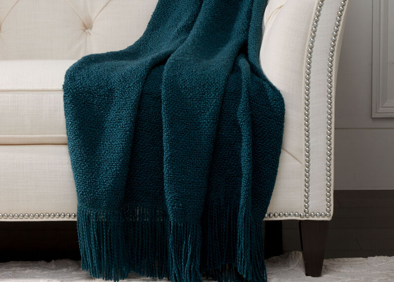 Serene Throw, Teal | Tuggl