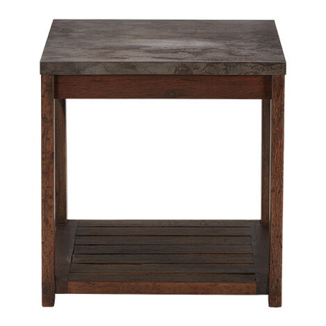 Gannett Metal-Top End Table Product Tile Image 228022
