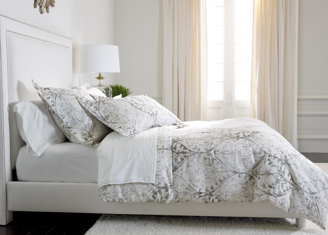 Tuscan Gate Printed Duvet Cover And Shams Duvet Covers