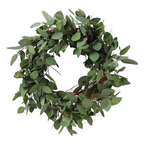 "24"" Seeded Eucalyptus Wreath Product Tile Image 442234"