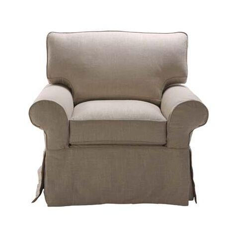 Bennett Slipcovered Chair Large