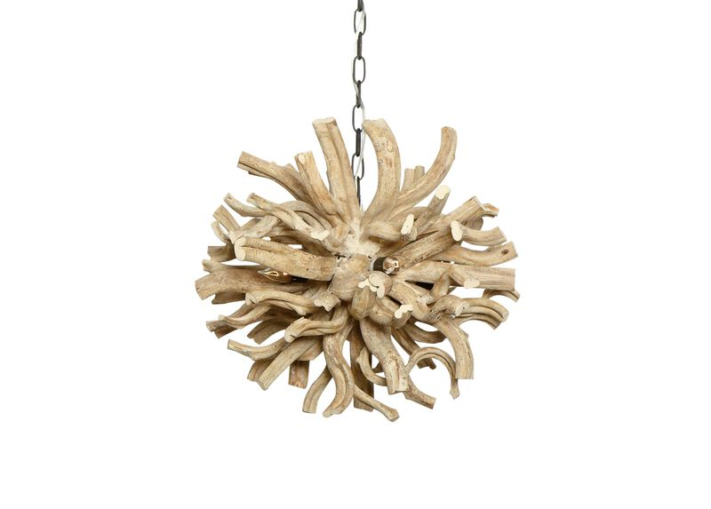 Small Minetto Wood Pendant
