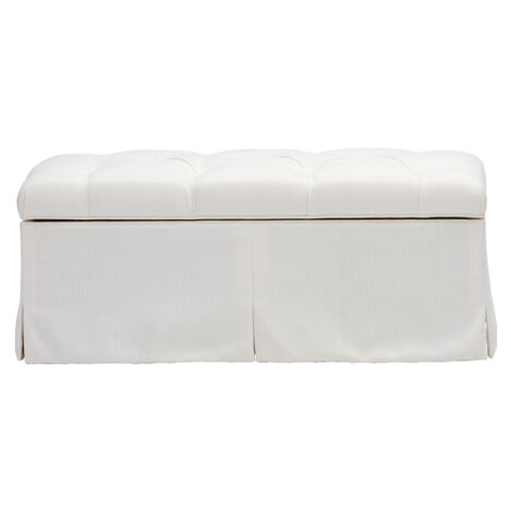 Manor Storage Ottoman ,  , large