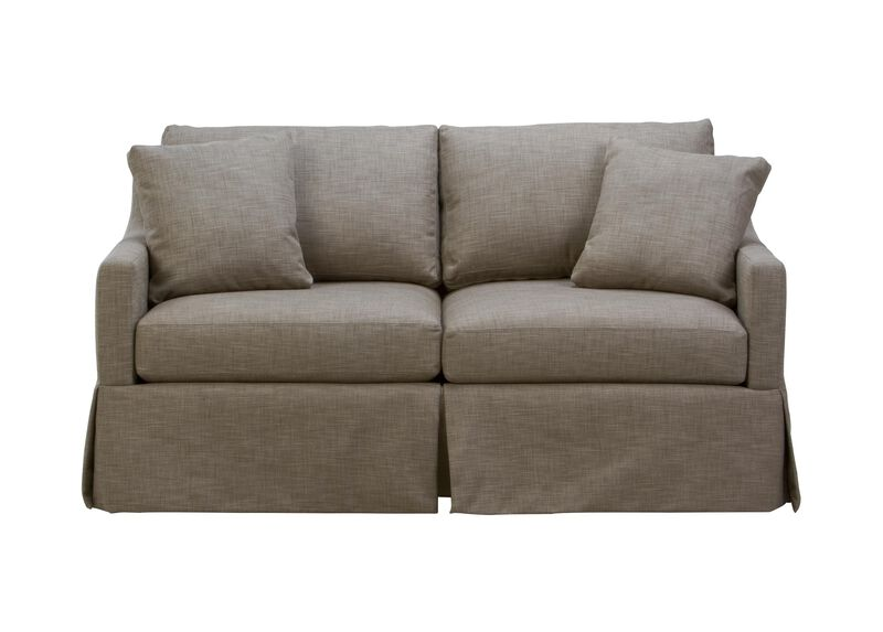Monterey Skirted Sofa ,  , large_gray