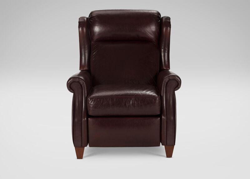 Graham Leather Recliner | Tuggl
