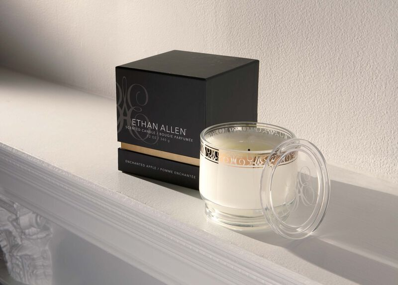 Enchanted Apple Small Candle