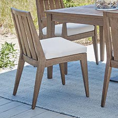 Bridgewater Cove Teak Dining Side Chair Product Tile Hover Image 404050