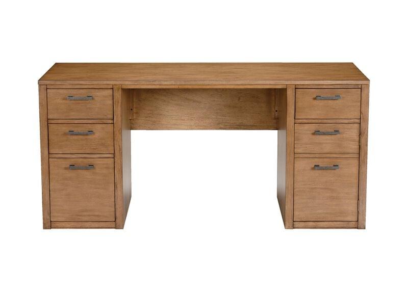 """Duke 60"""" Double Pedestal Desk ,  , large_gray"""