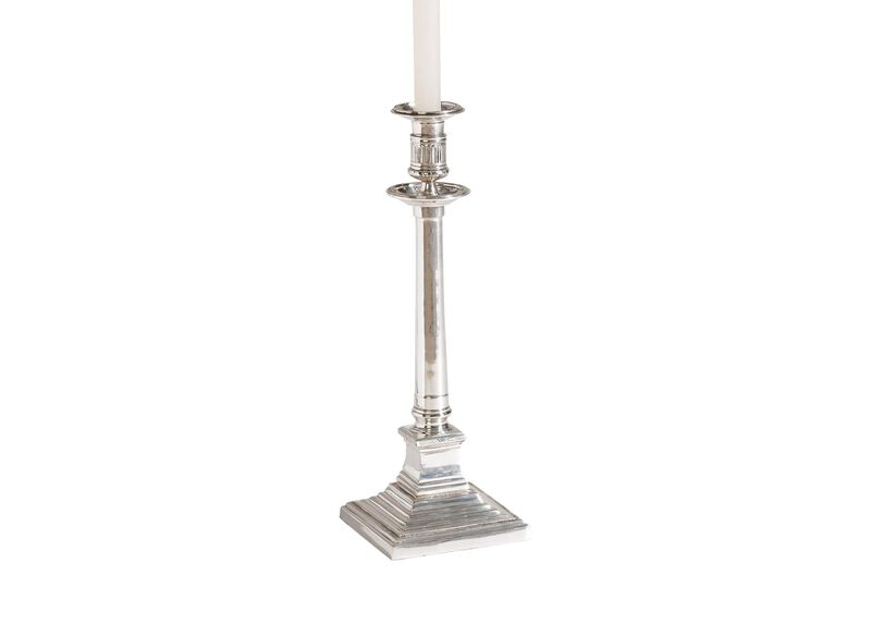 Classic Silver Candlestick ,  , large_gray