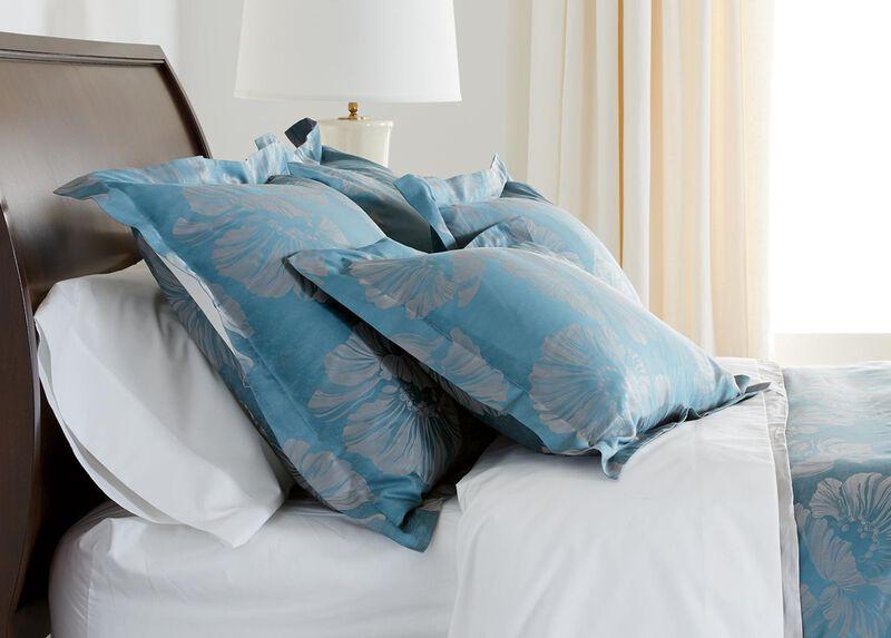 Susana Blue Floral Shams ,  , large_gray