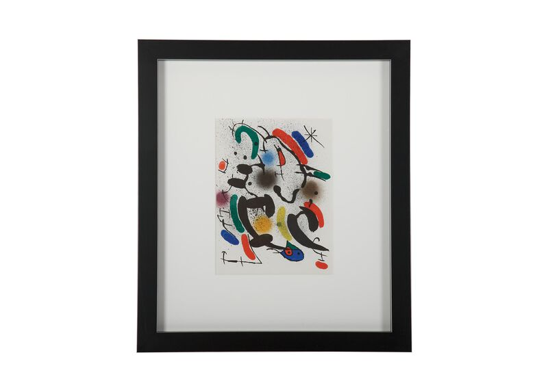 Miró Lithographe: Lithographie Originale VI ,  , large_gray