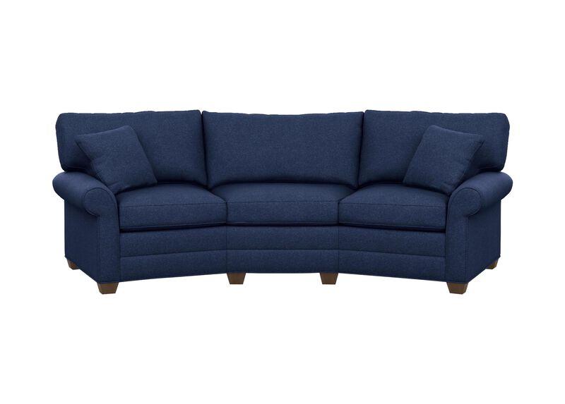Bennett conversation sofa sofas loveseats ethan allen for Ethan allen bennett sectional sofa
