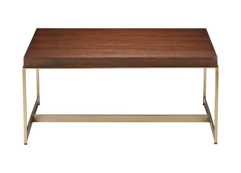 Edmonds Square Wood Coffee Table