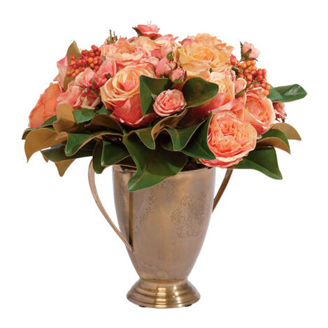 Rose and Magnolia Arrangement ,  , large