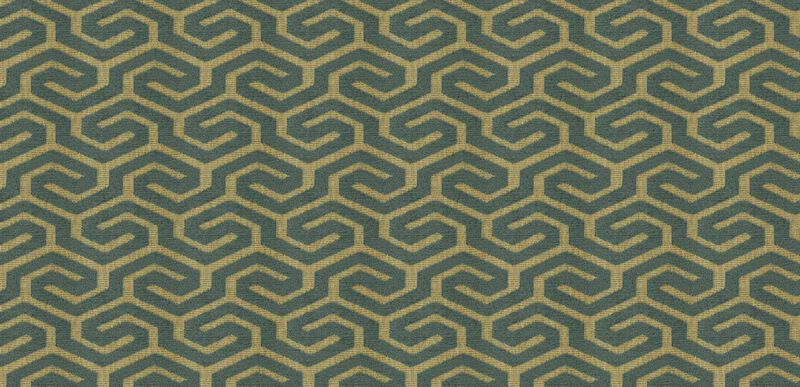 Declan Teal Fabric By the Yard