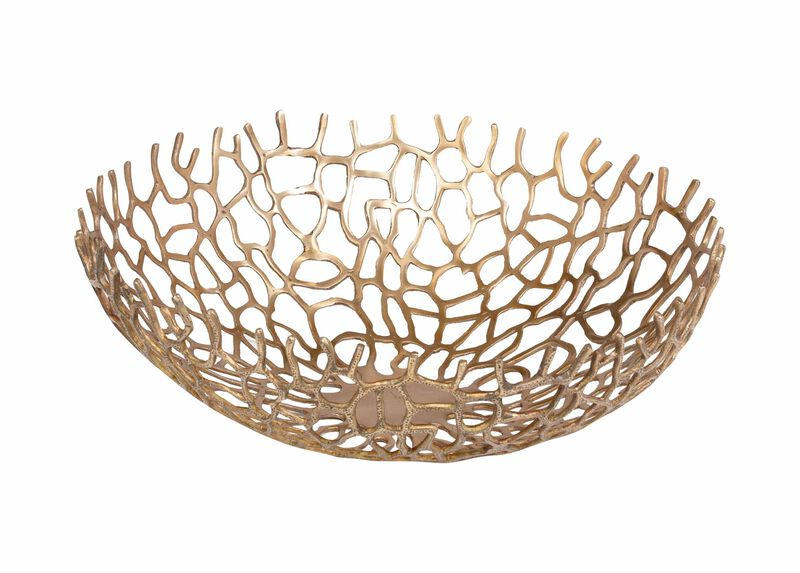 Round Coral Bowl