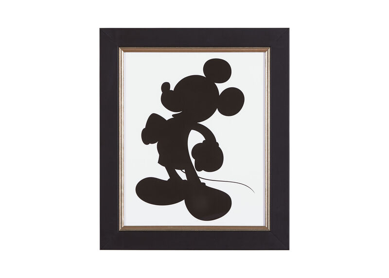 Mickey Mouse Silhouette I ,  , large_gray