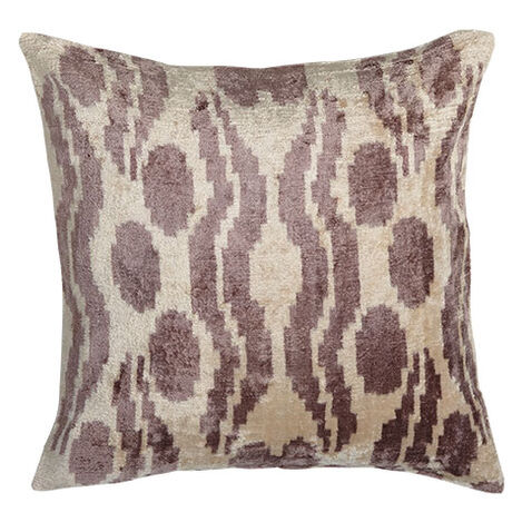 Silk Velvet Pillow, Smoky Rose ,  , large