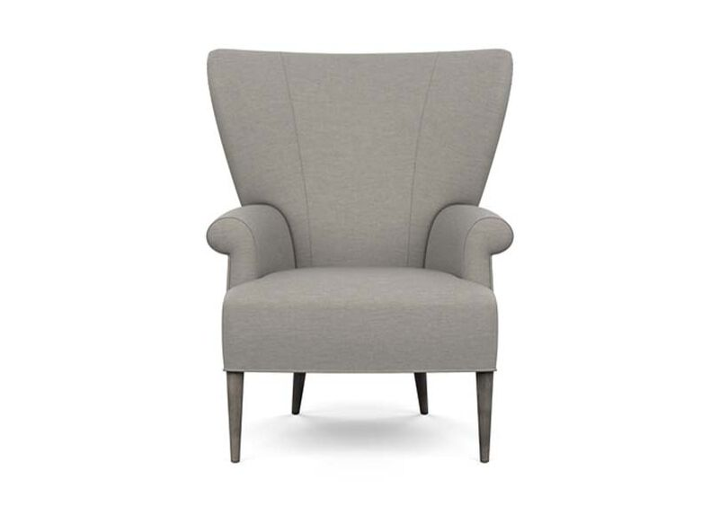 Bravo Chair , Zest Steel (D1053), strie texture , large_gray