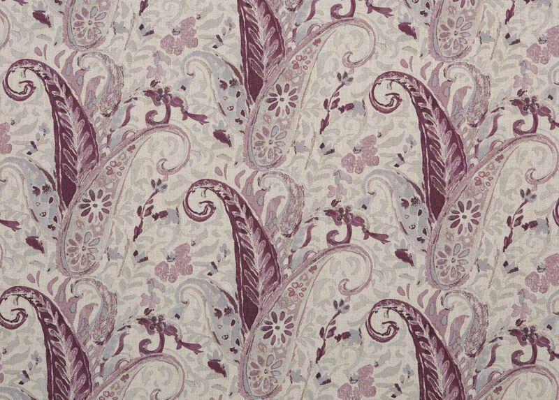 Nabry Plum Fabric