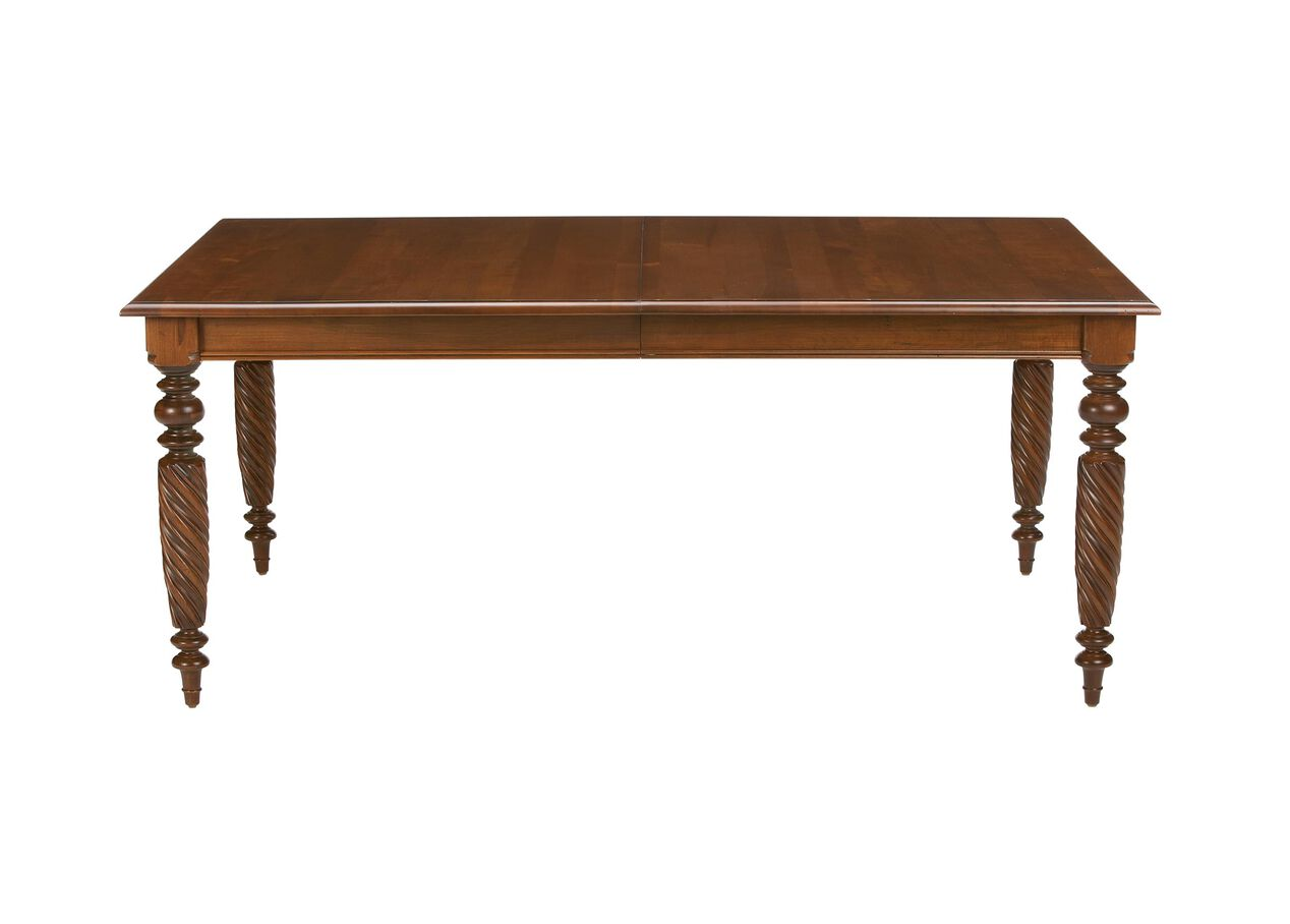 Livingston dining table dining tables ethan allen for Dining room tables 1940s