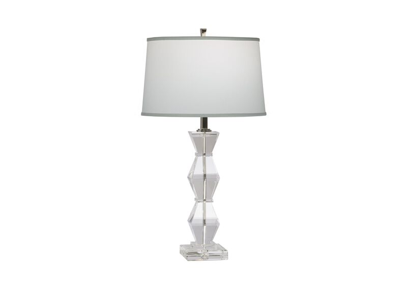 Geometric Crystal Table Lamp ,  , large_gray