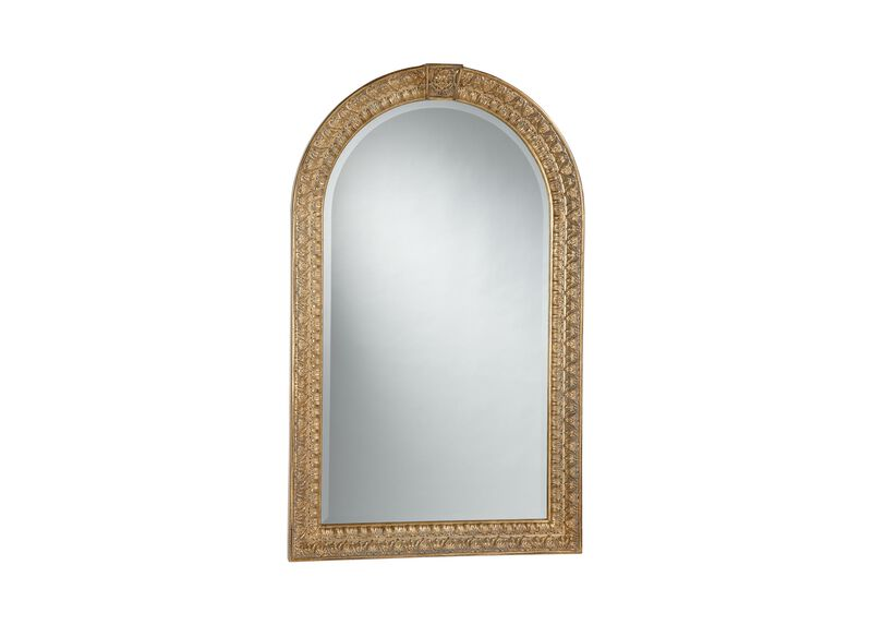 Antique Gold Arched Mirror ,  , large_gray