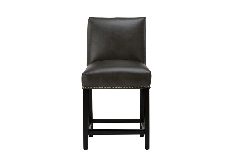 Thomas Leather Counter Stool