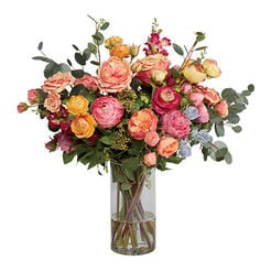 Ranunculus & Roses Mix in Glass Recommended Product