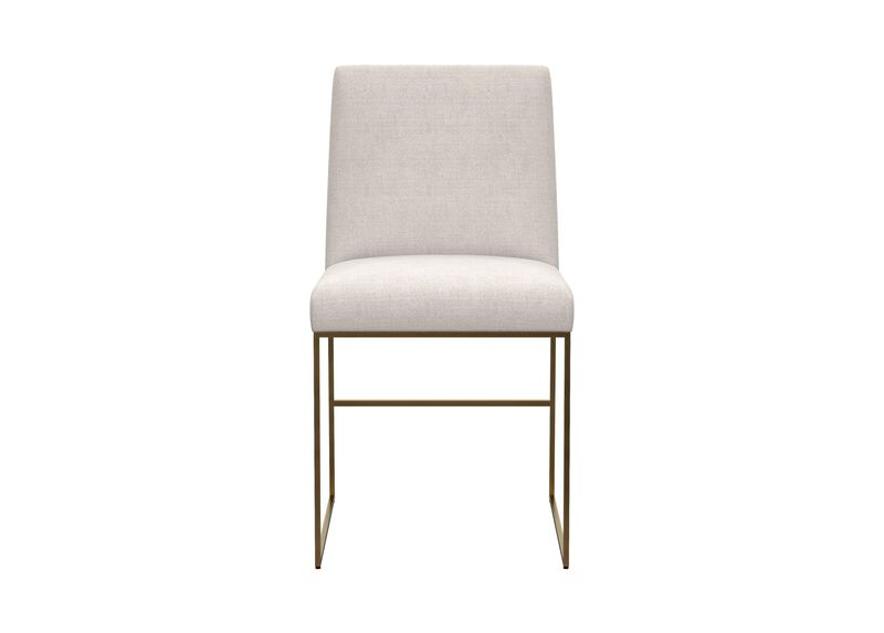 Jewel Metal Base Dining Chair