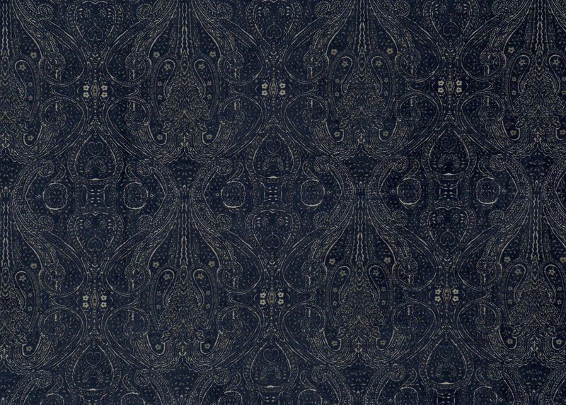 Regan Cobalt Fabric by the Yard