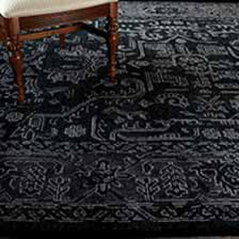 Heriz Deconstructed Rug, Charcoal Product Tile Hover Image 041524