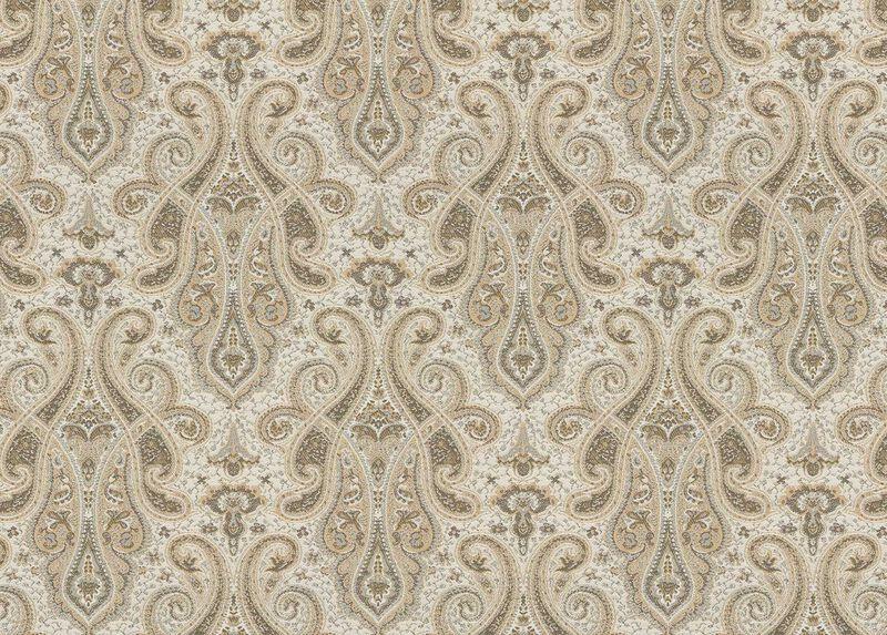 Shayna Beige Fabric by the Yard