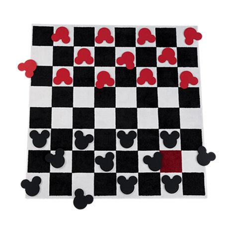 Checkboard Square Rug Set ,  , large