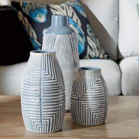 Aztec Blue Vase ,  , hover_image