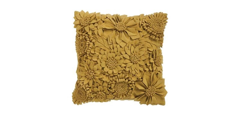 Blooming Floral Pillow