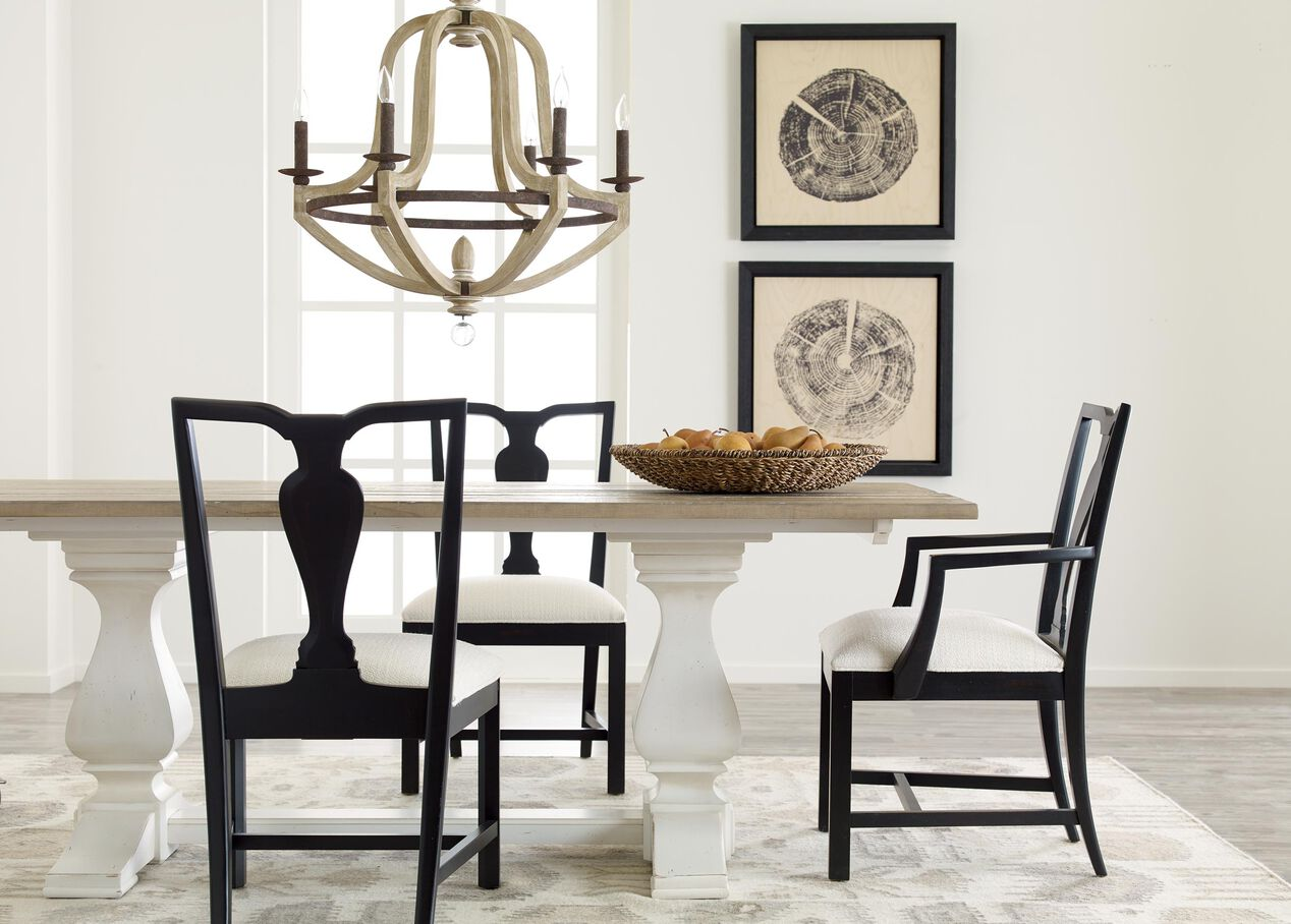 Cameron Rustic Dining Table   Dining Tables   Ethan Allen