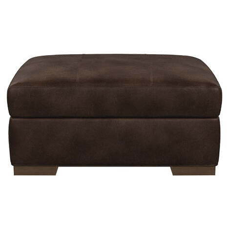 Conway Leather Ottoman Product Tile Image 727784