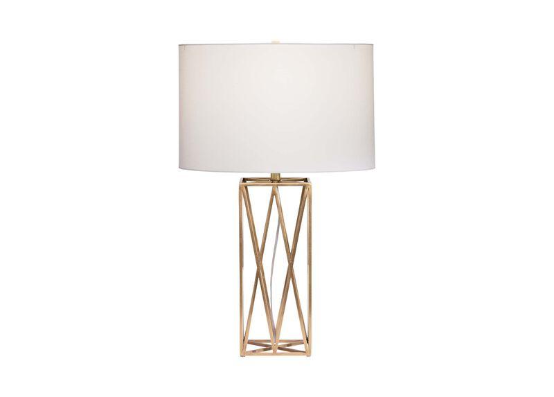 Amalie Metal Retro Style Table Lamp Ethan Allen Lighting