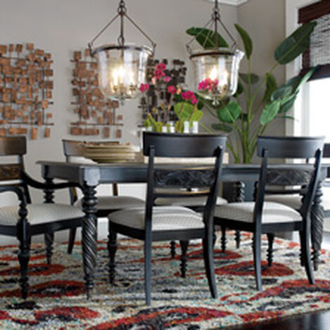 Long Dining Room Tables | Shop Dining Room Tables Kitchen Round Dining Room Table Ethan